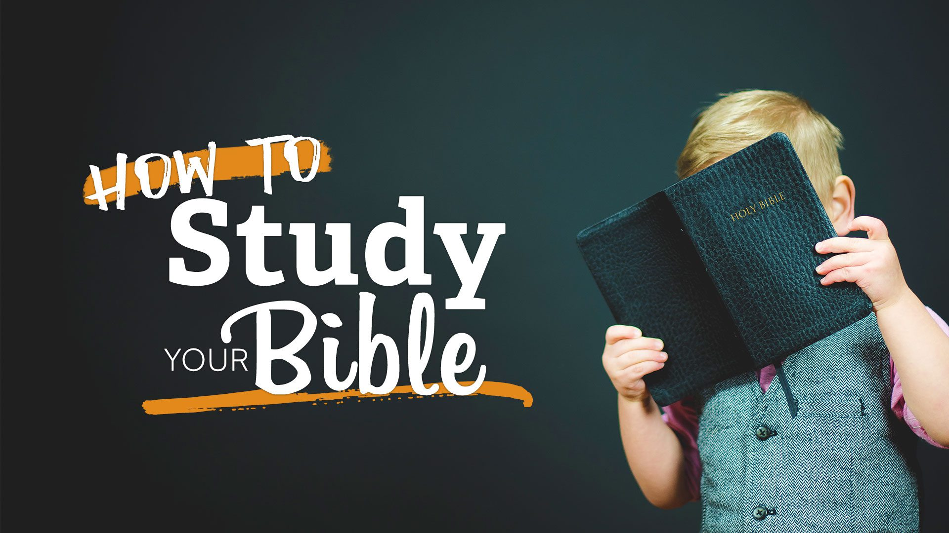 How to study your Bible | Meridian Point Church